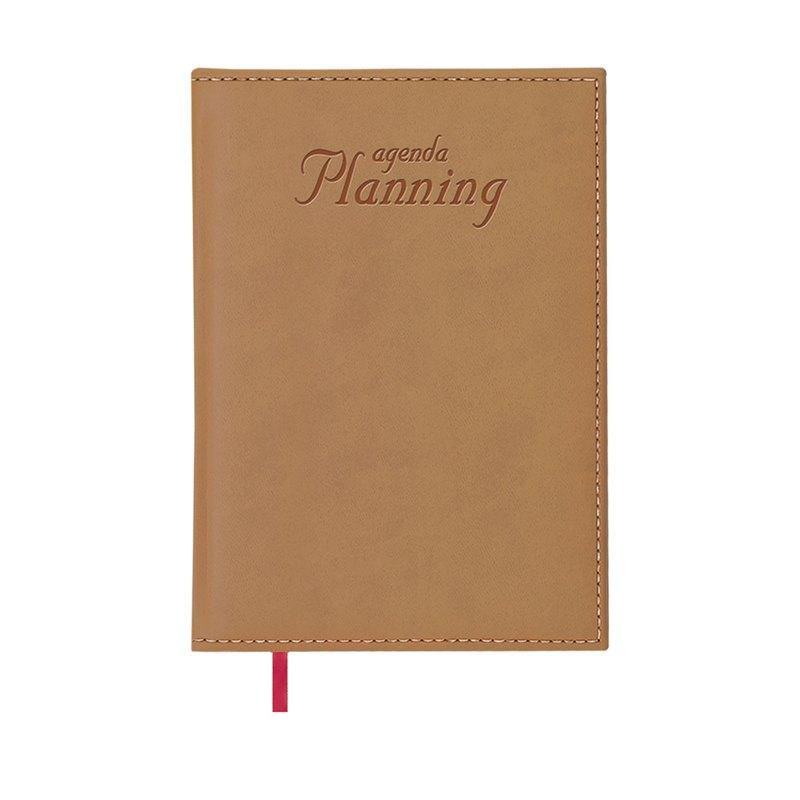 Libro de Reservas Día página Dohe 2021 planning perpetuo 21x29cm Cámel 12133