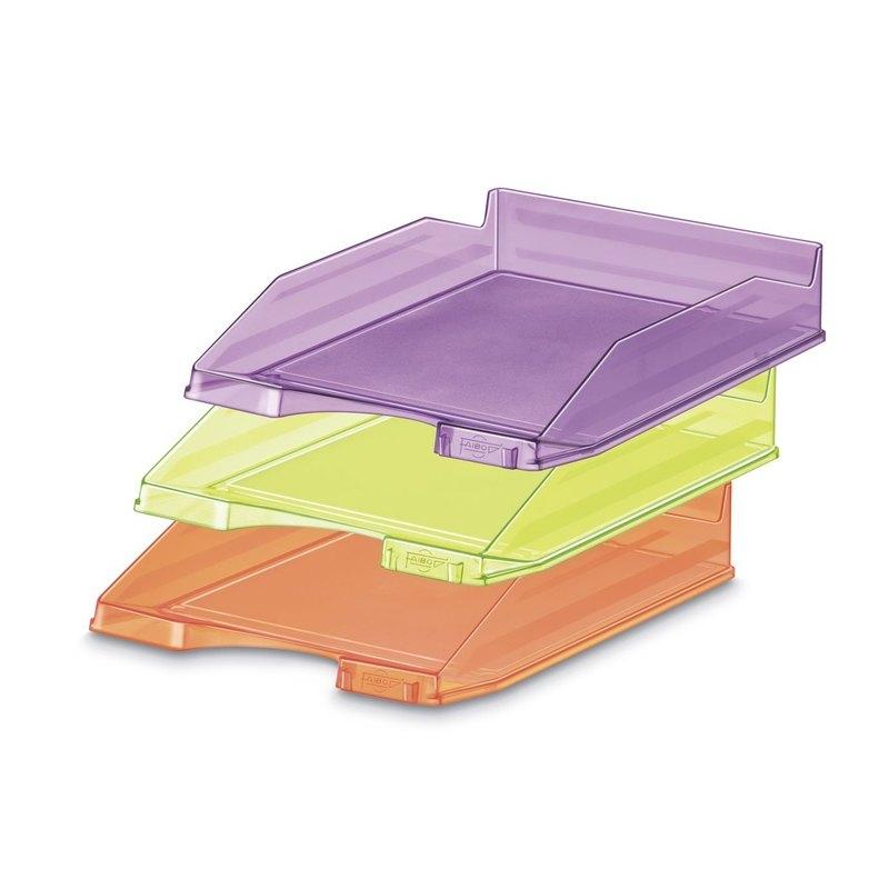Bandeja de sobremesa colores flúor Faibo 93-22