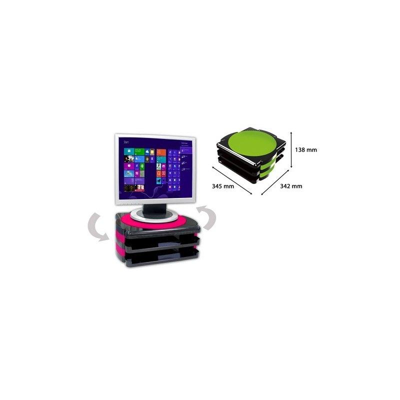 Soporte Monitor Giratorio Office Box 46010-M