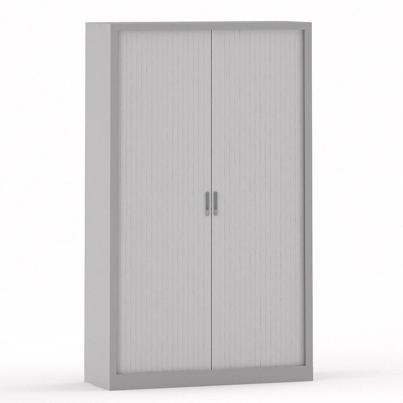 Armario metálico con puertas de persiana Basic 195.322.546