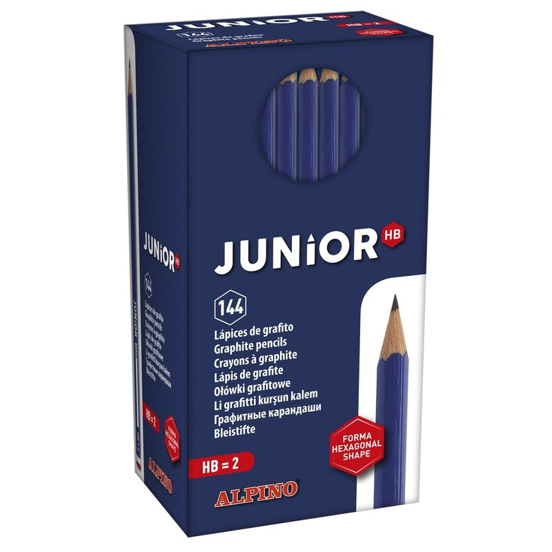 Lápices de grafito Alpino Junior HB JU000014