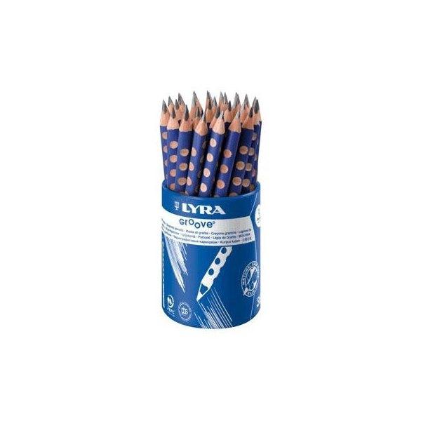 Lápices de grafito triangulares Lyra Groove 1873360