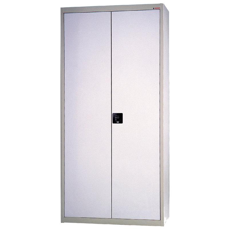 Armario metalico con 4 estantes y cerradura 90x42x190 cm (anchoxfondoxalto) ARM01 RAL7035