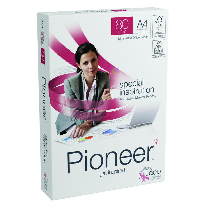 Papel fotocopiadora multifunción premium  80g Pioneer SPECIAL