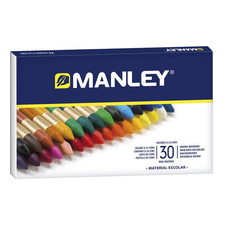 Lápices de cera de colores Manley MNC00033