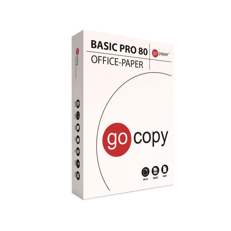 Papel fotocopiadora A4 Go-Copy GO-WHITE