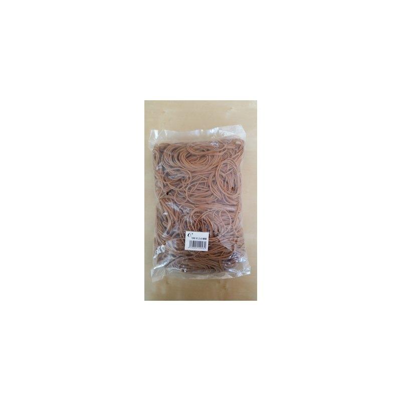 Gomilla elástica de caucho 1kg natural Office Line 150X2,0