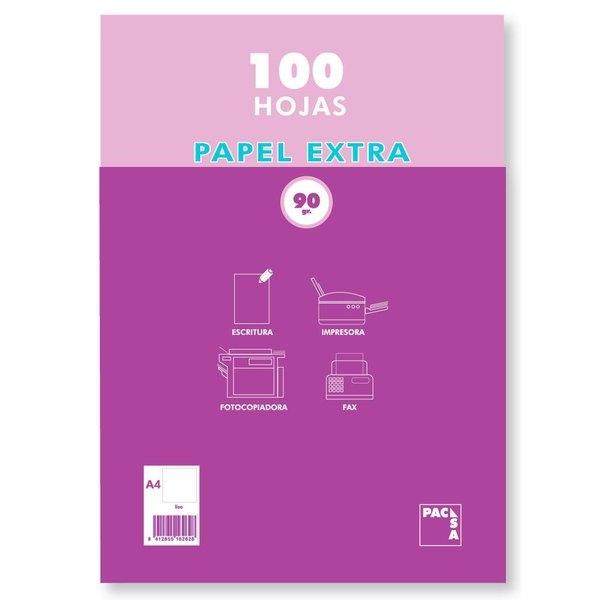 Papel fotocopiadora extra 90g Pacsa 21815