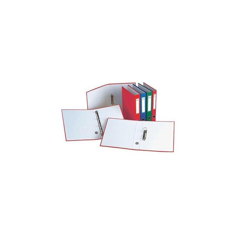 Carpeta de anillas cartón folio colores DisOfic 9422