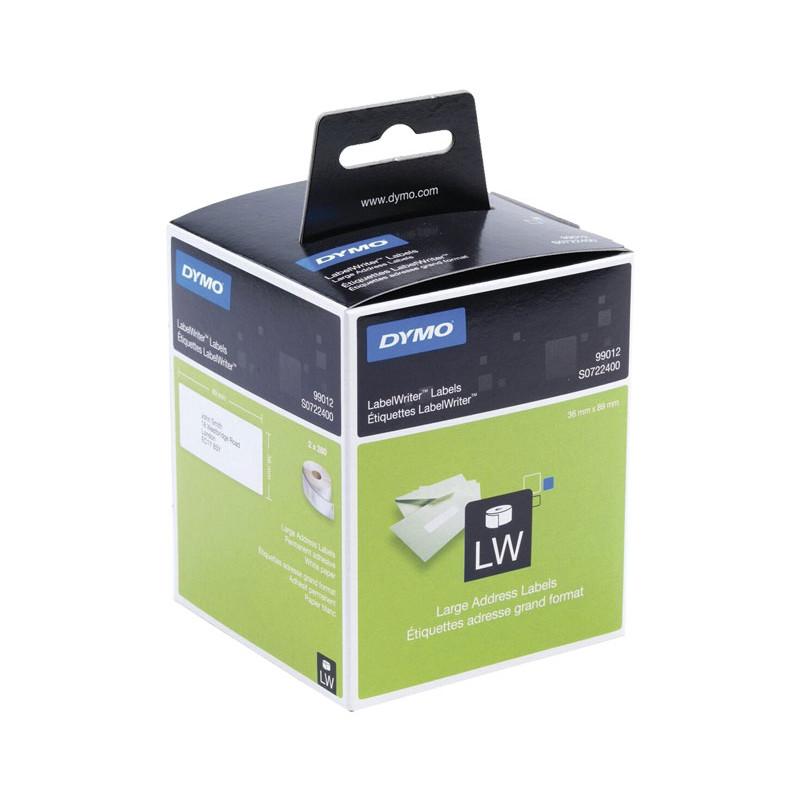 Etiquetas para impresora Dymo Labelwriter S0722400
