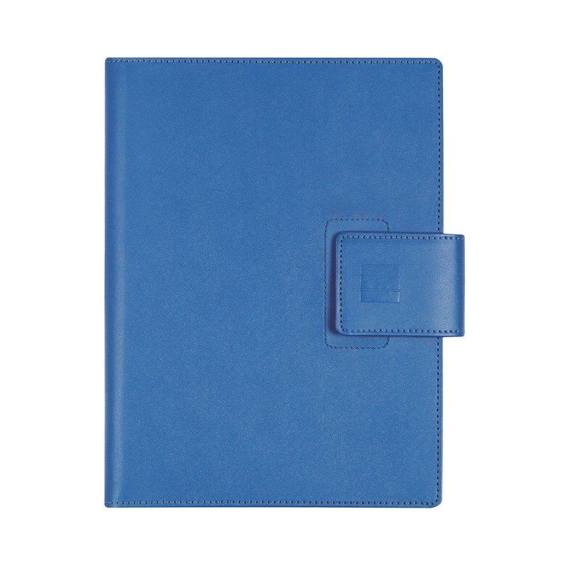 Agenda espiral Día página 2021 Finocam Duouno E10 15,5x21,2cm Azul 380291021