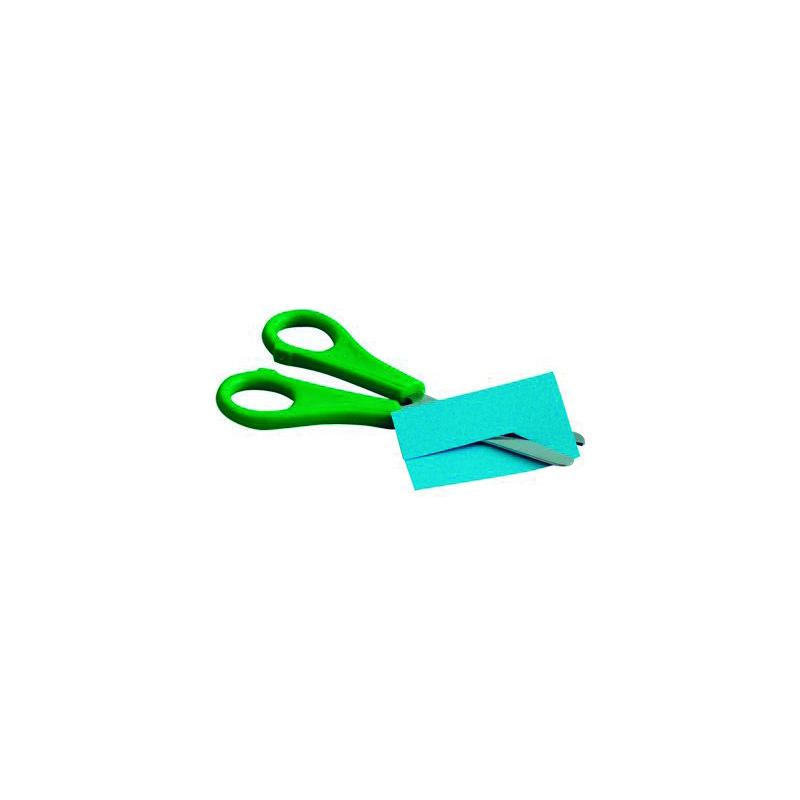 Tijera escolar dentada zig-zag Faibo 764B