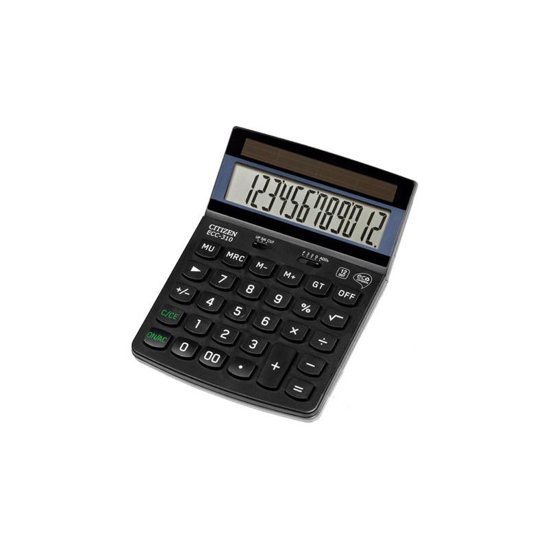 Calculadora de sobremesa 12 dígitos Citizen ECC-310 ECC-310