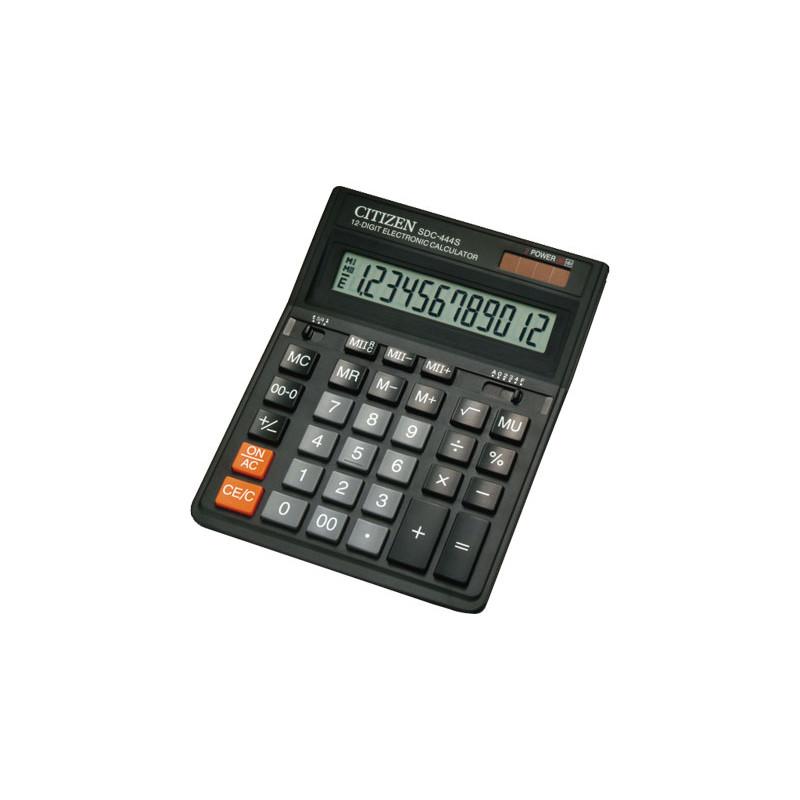 Calculadora de sobremesa 12 dígitos Citizen SDC-444S SDC-444-S