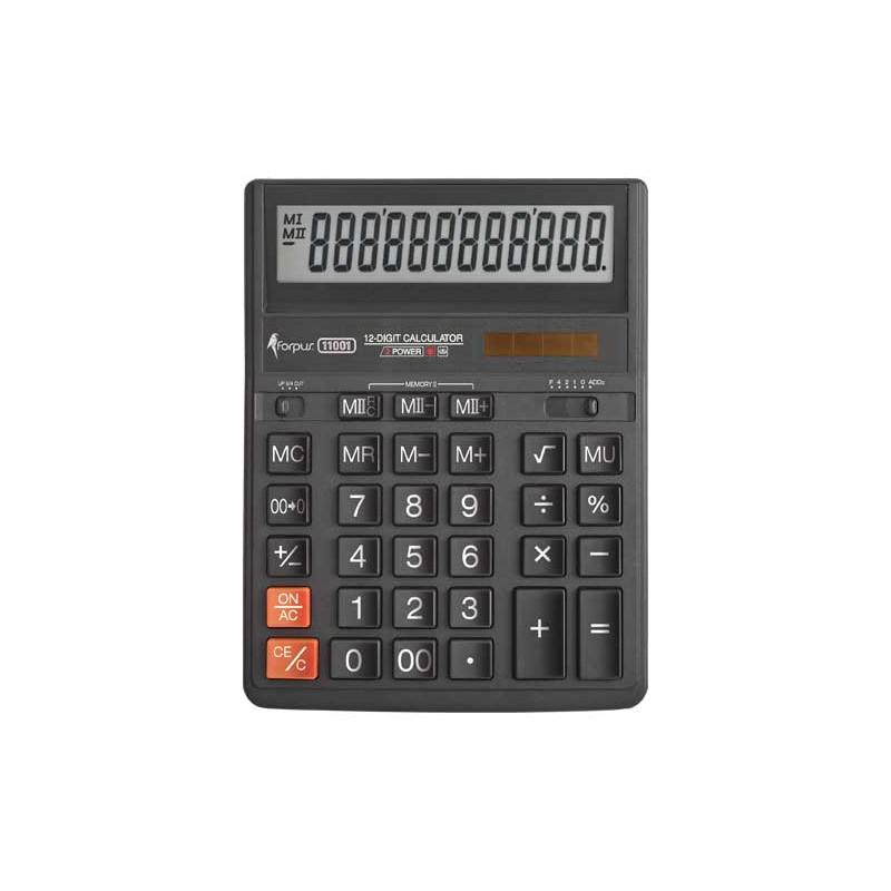 Calculadora de sobremesa 12 dígitos Forpus 11001 FO11001