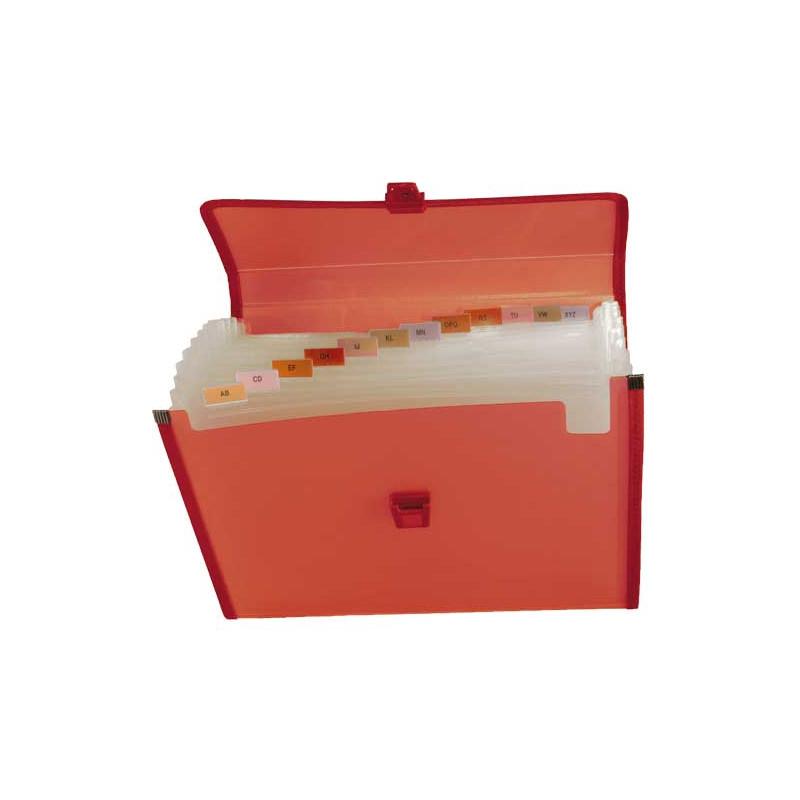 Carpeta clasificadora polipropileno con fuelle y broche Grafoplás 02961251