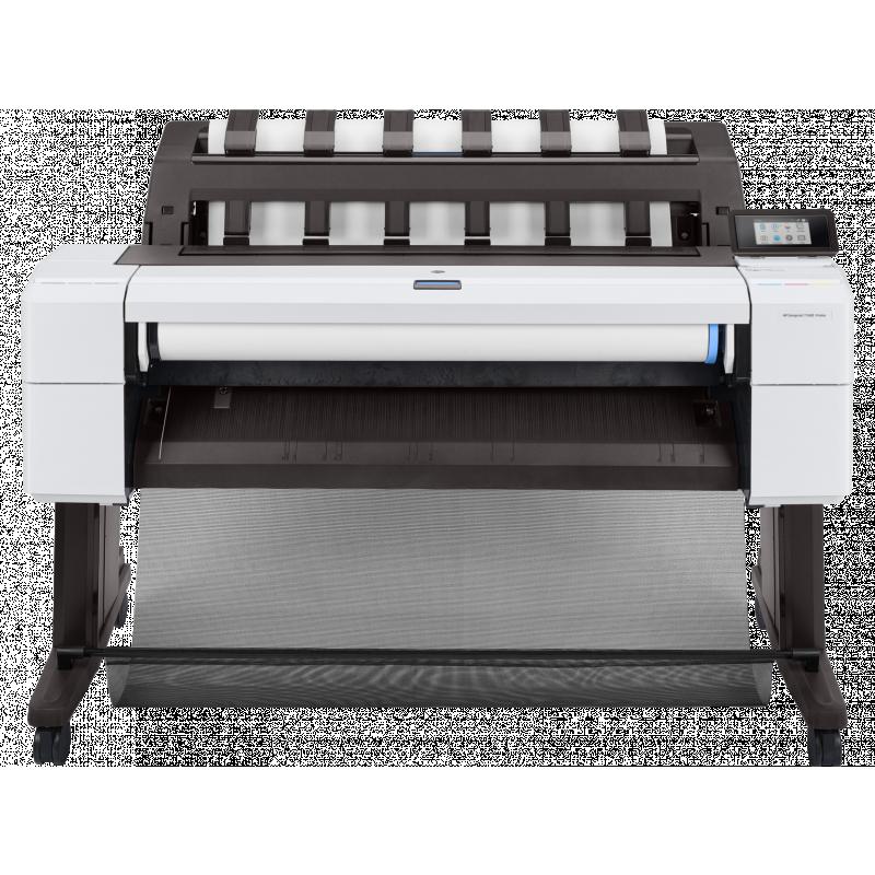 Plotter HP Designjet T1600 Postscript de 36 Pulgadas 3EK11A