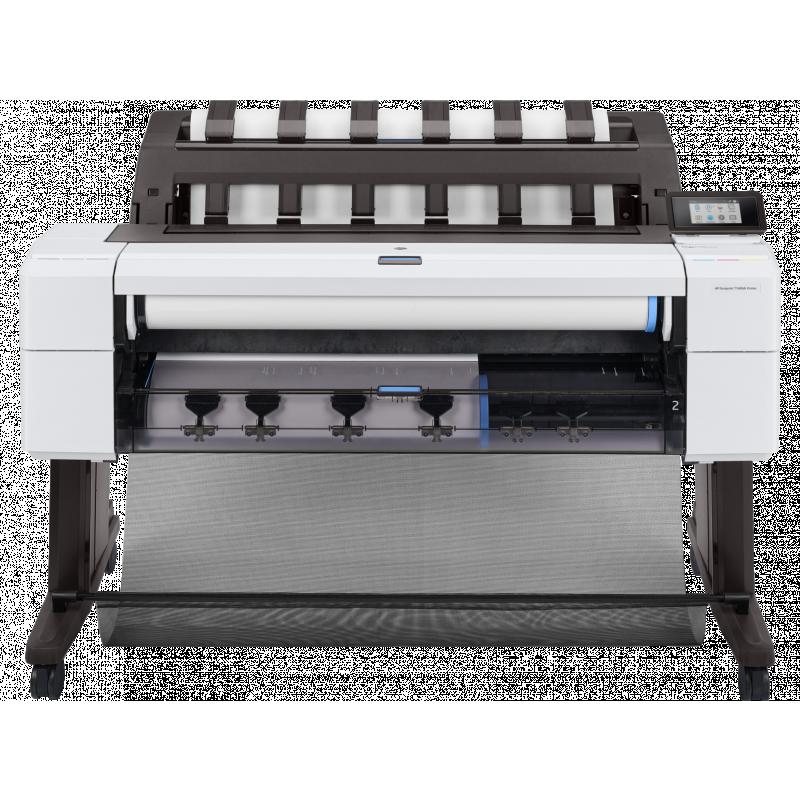Plotter HP Designjet T1600dr de 36 Pulgadas 3EK12A