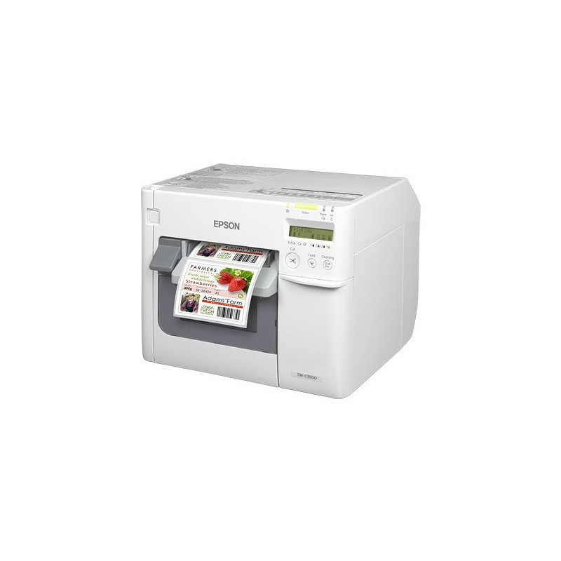 Impresora Epson Tm-C3500 Inyeccion Etiquetas Color C31CD54012CD