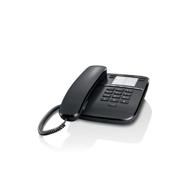 TELEFONO FIJO GIGASET DA310 NEGRO S30054-S6528-R101