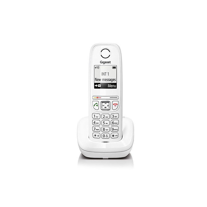 Telefono Inalambrico Gigaset As405 Blanco S30852-H2501-D202