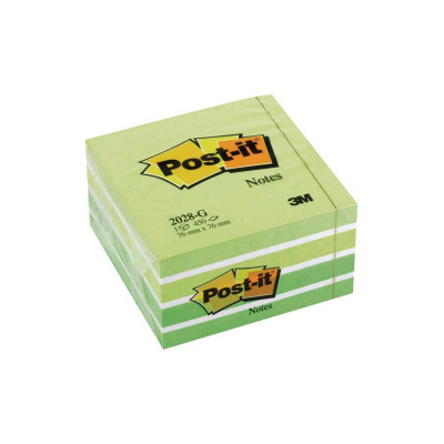 Cubo de notas adhesivas Post-it 2028-G