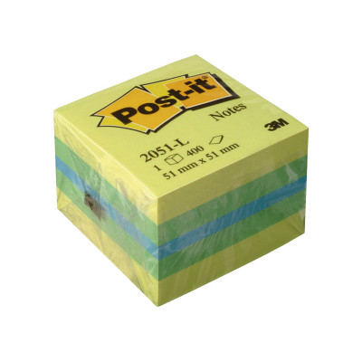 Cubo de notas adhesivas Post-it minicubos 2051-L