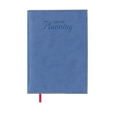 Libro de Reservas Día página 2021 Planning Perpetuo 21x29cm Azul 12132