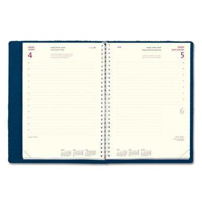 Recambio agenda día página Myrga Laredo Plus 16,5x24cm 3355