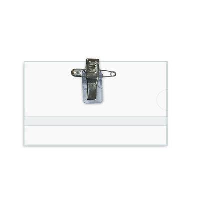 Identificador porta nombre con clip e imperdible Forpus FO70701