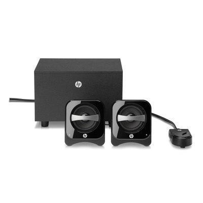 Sistema de Altavoces compactos Multimedia HP 2.1 12W BR386AA