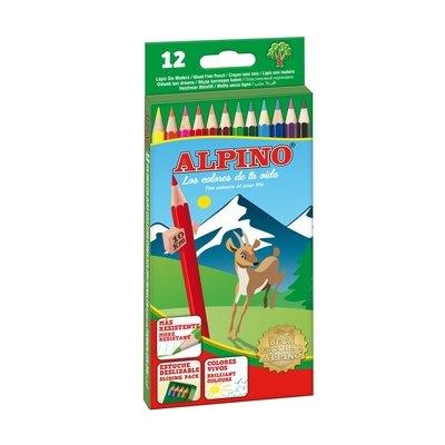 Lápices de colores surtidos Alpino ALO10654