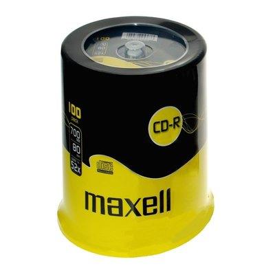CD-R grabable 700Mb 80 minutos Maxell 624003