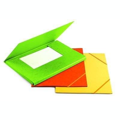 Carpeta con gomas y solapas cartón A4 colores Forpus FO21502
