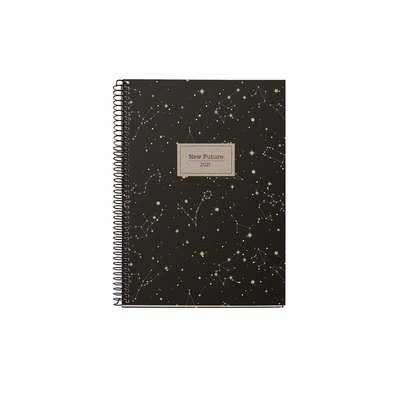 Agenda espiral Semana vista vertical 2021 Recycled New Future Plus 15,5x21,3cm 34046