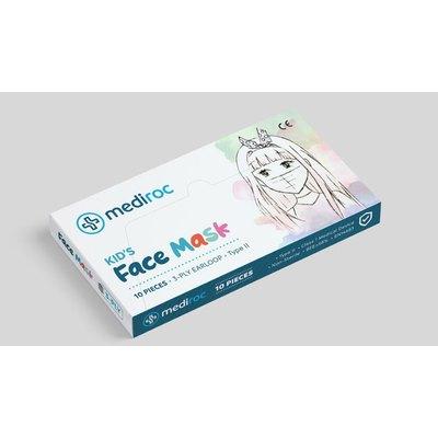 Mascarillas infantiles Mediroc STL3PLYKIDS