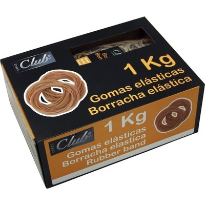 Gomilla elástica de caucho 1Kg Office Club 320601