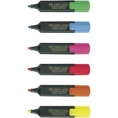 Rotulador fluorescente Faber-Castell Textliner 154807