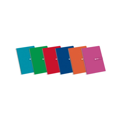 Cuaderno espiral tapa dura 80 hojas Enri 100430081