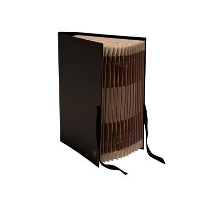 Carpeta clasificadora de cartón con fuelle Mariola 0914NE