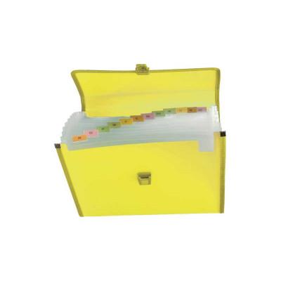 Carpeta clasificadora polipropileno con fuelle y broche Grafoplás 02961260