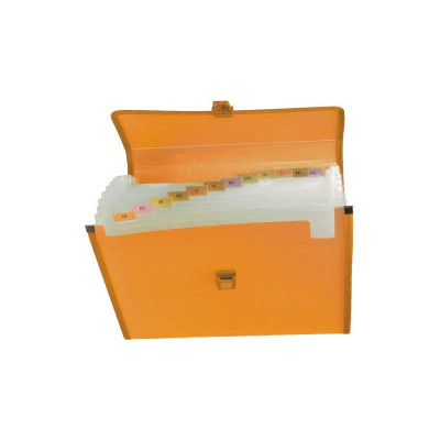 Carpeta clasificadora polipropileno con fuelle y broche Grafoplás 02961252