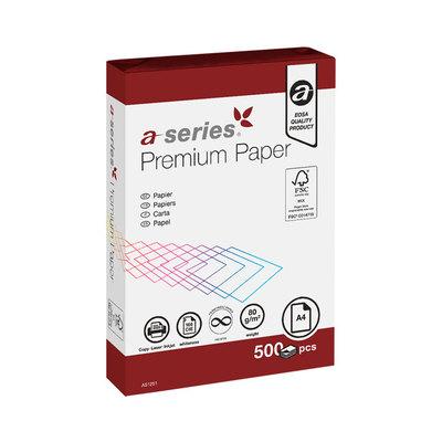 Papel fotocopiadora A4 a-series premium 80g