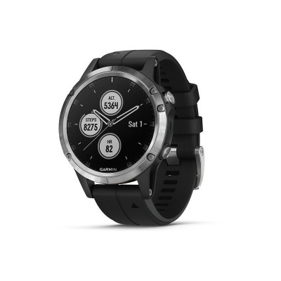 Smartwatch Garmin Fenix 5 Plus Negro/Plata 010-01988-11