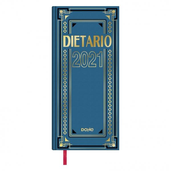 Dietario anual Día página 2021 Dohe 2/3 14,5x31cm