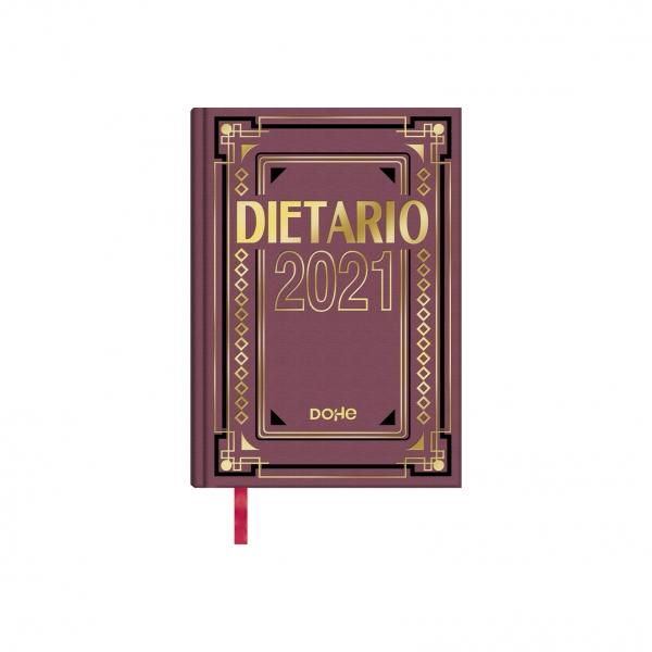 Dietario Día página cuarto 2021 Dohe 15x21cm