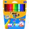 Rotuladores de colores Bic Kids Visa estuche de 12
