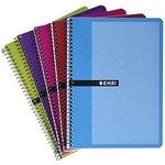 Cuaderno espiral tapa blanda 80 hojas Enri 100430106
