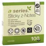 Bloc de notas adhesivas zig zag  A-Series AS0880