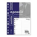 Recambio agenda anual día página 2021 Finocam Multifin 3002 411020021
